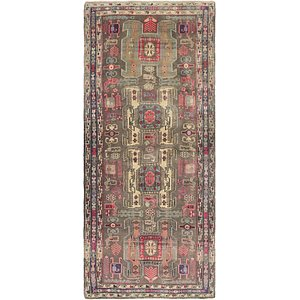 Link to 132cm x 305cm Ardabil Persian Runner ... item page