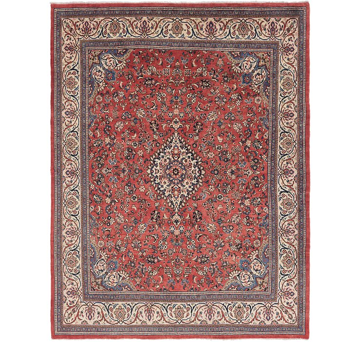 10' 8 x 13' 9 Sarough Persian Rug