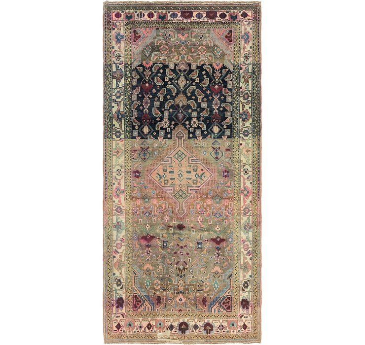 4' 6 x 10' Darjazin Persian Runner...