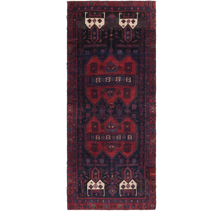 132cm x 323cm Sirjan Persian Runner Rug