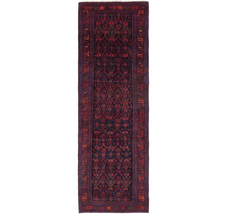 4' 3 x 13' 5 Sanandaj Persian Runner...