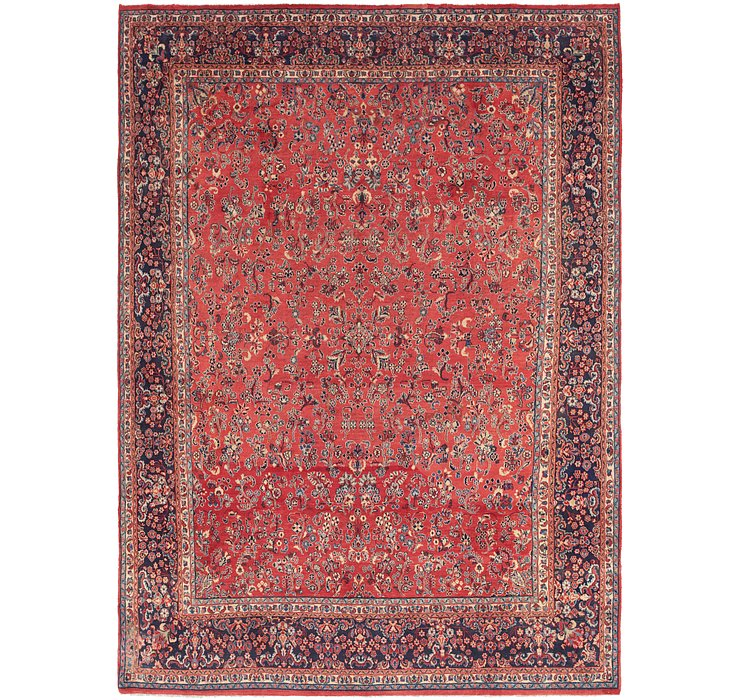 9' 2 x 13' Sarough Persian Rug
