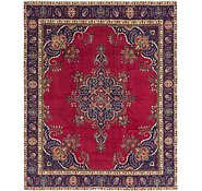 Link to 10' x 11' 3 Tabriz Persian Square Rug