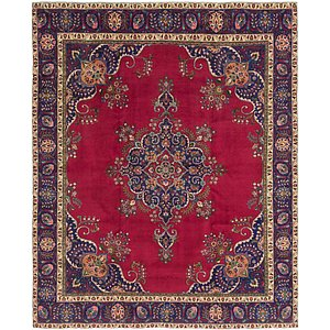 Link to 10' x 11' 3 Tabriz Persian Square Rug item page