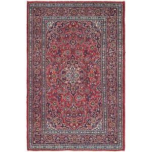 Unique Loom 6' 6 x 9' 10 Mashad Persian Rug