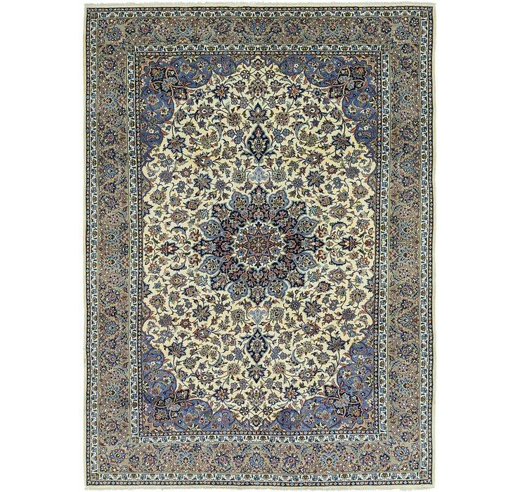 9' 9 x 13' 7 Isfahan Persian Rug
