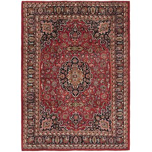Link to 245cm x 335cm Mashad Persian Rug item page