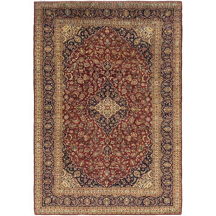 9' 10 x 14' 2 Kashan Persian Rug