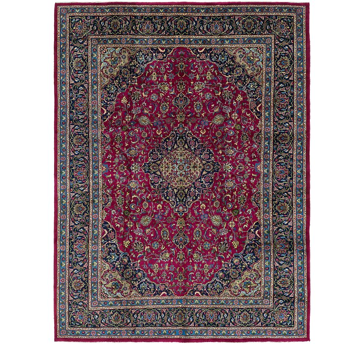 10' x 13' 5 Mashad Persian Rug