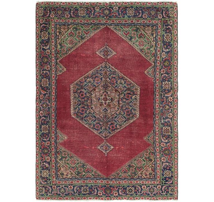 6' 3 x 9' Tabriz Persian Rug