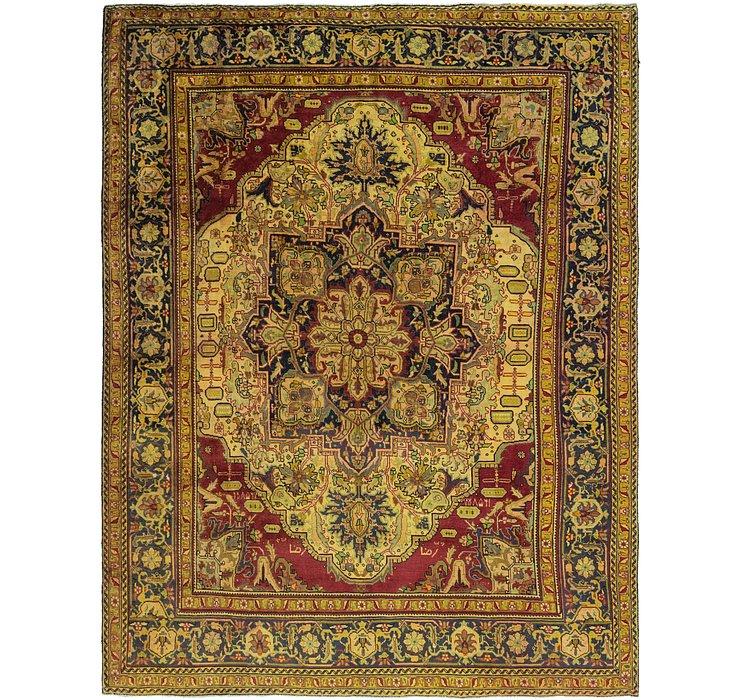 9' 5 x 12' 6 Tabriz Persian Rug