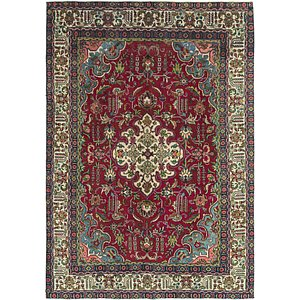 Link to 7' 5 x 10' 9 Tabriz Persian Rug item page