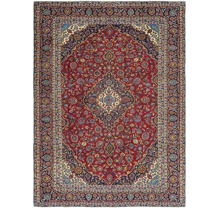 9' 3 x 12' 9 Kashan Persian Rug