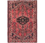 Link to 4' x 5' 8 Hamedan Persian Rug