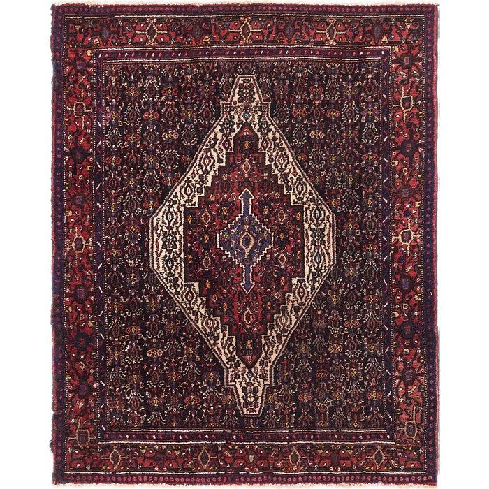 4' 5 x 5' 4 Senneh Persian Square Rug