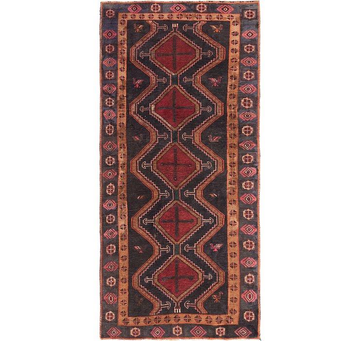4' 4 x 8' 8 Chenar Persian Runner Rug