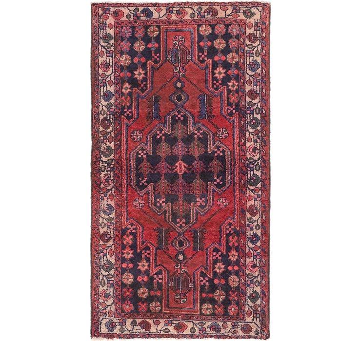 4' x 7' 5 Mazlaghan Persian Rug