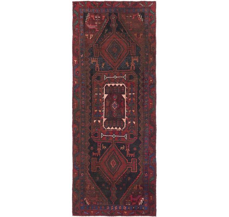 3' 9 x 9' 7 Sirjan Persian Runner Rug