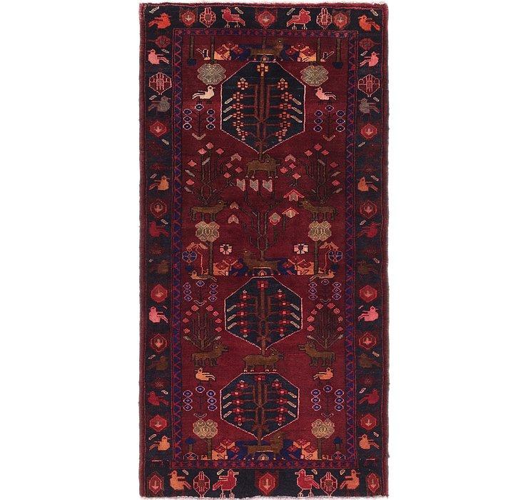 3' 6 x 6' 10 Ferdos Persian Rug