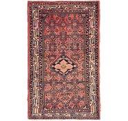 Link to 90cm x 147cm Hossainabad Persian Rug