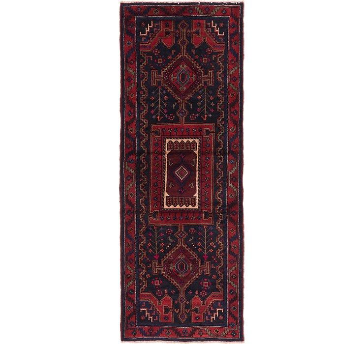3' 9 x 10' 2 Zanjan Persian Runner Rug