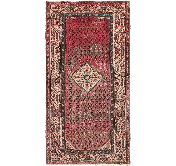 HandKnotted 3' x 5' 8 Hossainabad Persian Rug