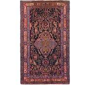 Link to 147cm x 255cm Nahavand Persian Rug