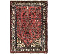 Link to 3' 6 x 5' Hossainabad Persian Rug