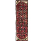 Link to 2' 9 x 8' 6 Hossainabad Persian Runner Rug