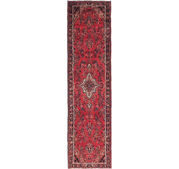 3' 9 x 14' Borchelu Persian Runner...