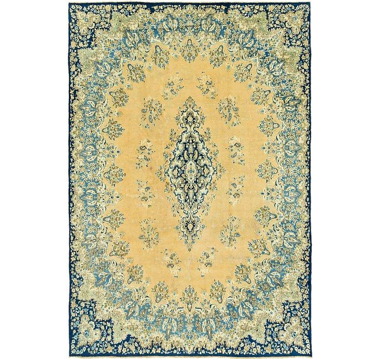 9' 9 x 14' 4 Kerman Persian Rug