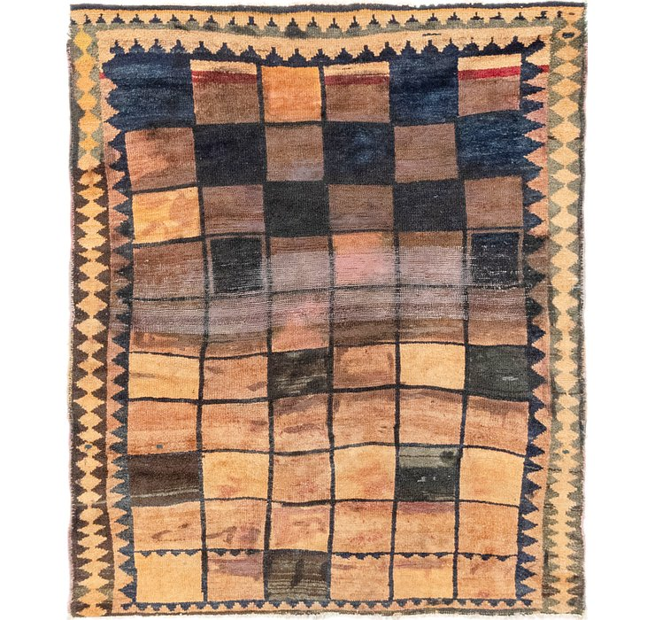 4' 9 x 5' 8 Shiraz Square Rug