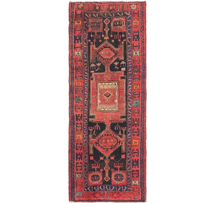 4' x 10' 4 Shiraz Runner Rug