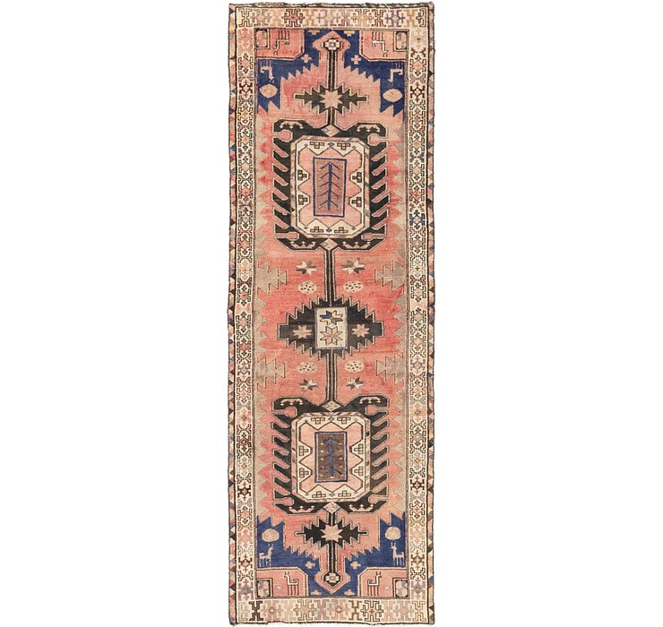 3' 3 x 9' 8 Saveh Runner Rug