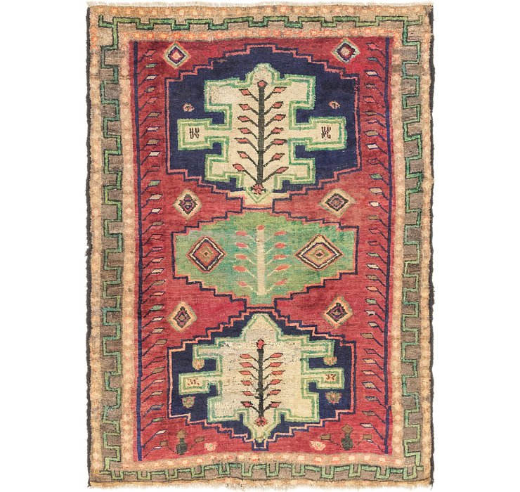 4' 5 x 6' Shiraz-Lori Rug
