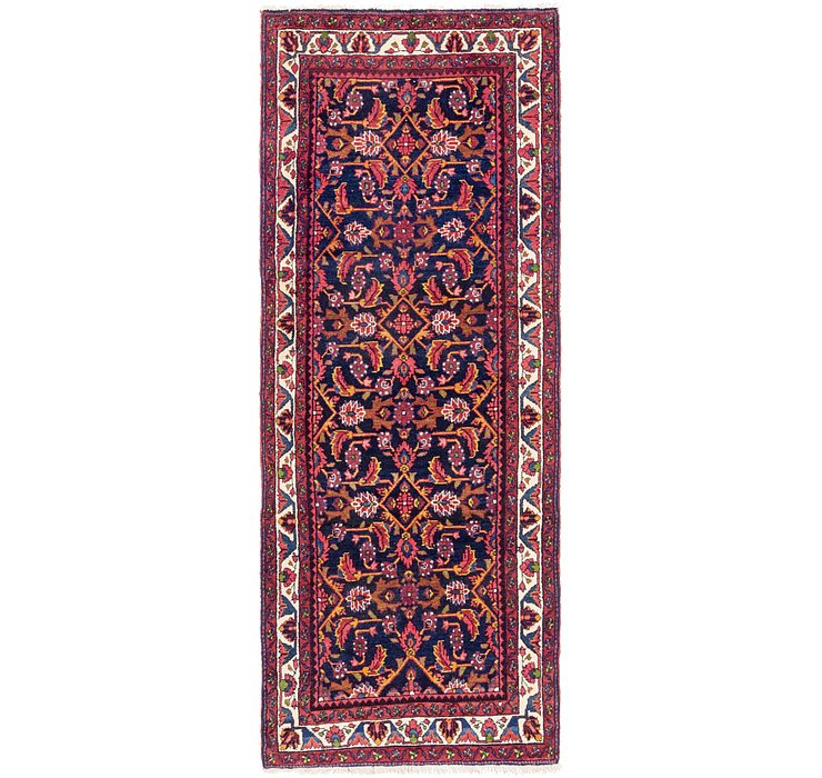 3' 9 x 9' 10 Malayer Runner Rug