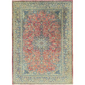 HandKnotted 10' x 13' 9 Isfahan Persian Rug