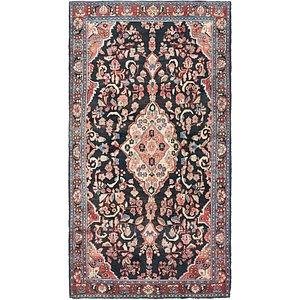 163cm x 305cm Hamedan Persian Rug