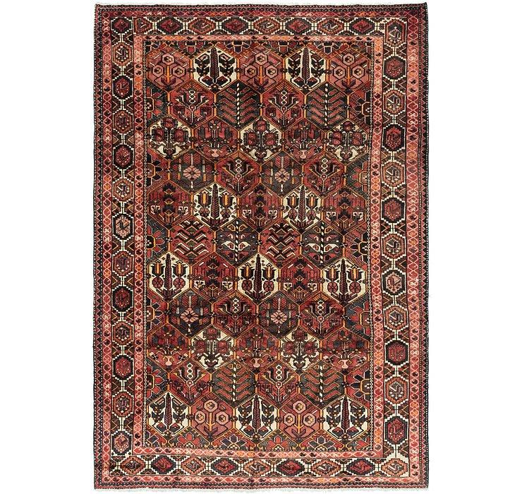 6' 10 x 9' 10 Bakhtiari Persian Rug