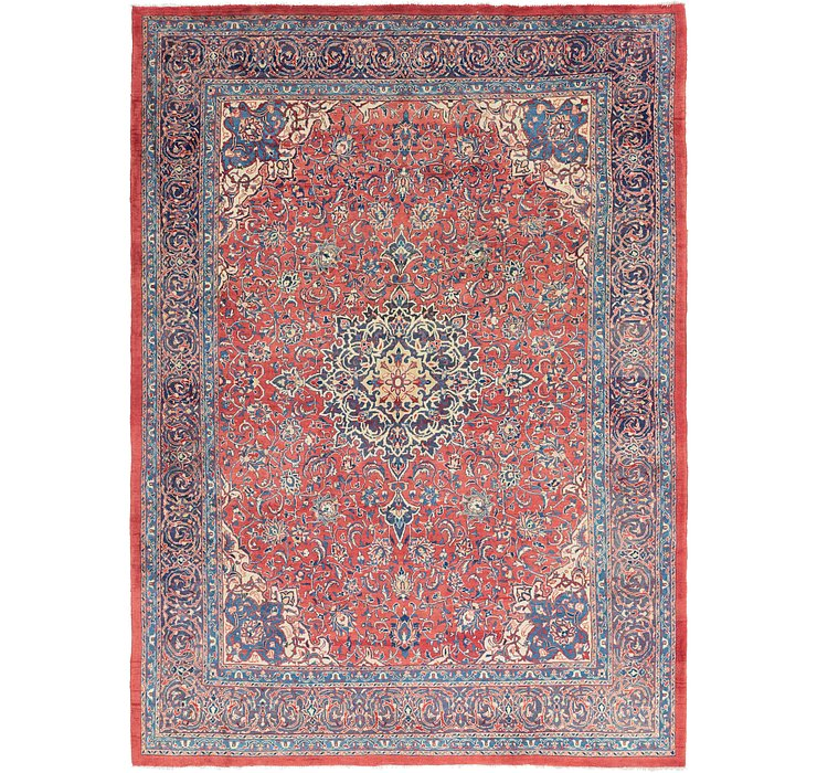9' 8 x 13' 4 Sarough Persian Rug