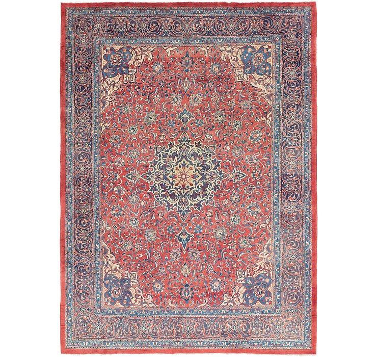 9' 8 x 13' 4 Sarough Persian Rug