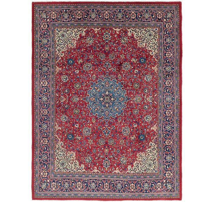 9' 8 x 13' Sarough Persian Rug
