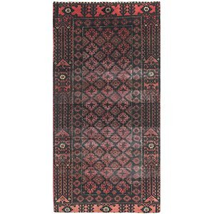 Link to 100cm x 198cm Balouch Persian Runner ... item page