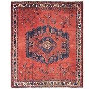Link to 4' 10 x 6' Hamedan Persian Rug
