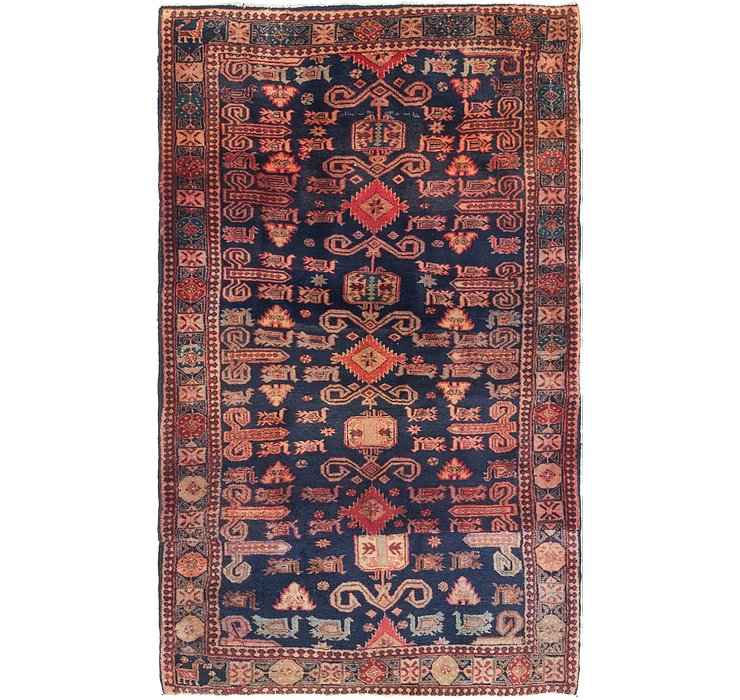 117cm x 193cm Gholtogh Persian Rug