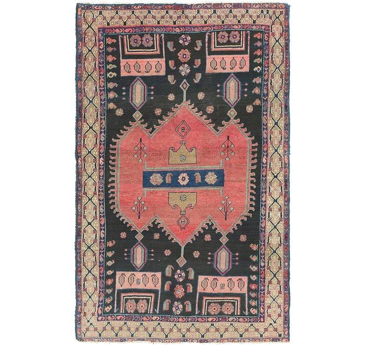 4' 2 x 6' 8 Koliaei Persian Rug