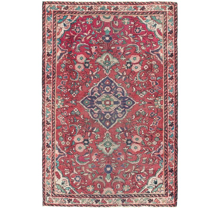 4' 2 x 6' 5 Borchelu Persian Rug