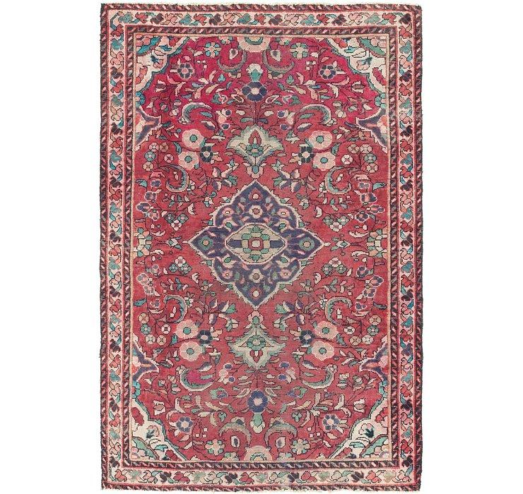 4' 2 x 6' 5 Borchelu Persian Rug