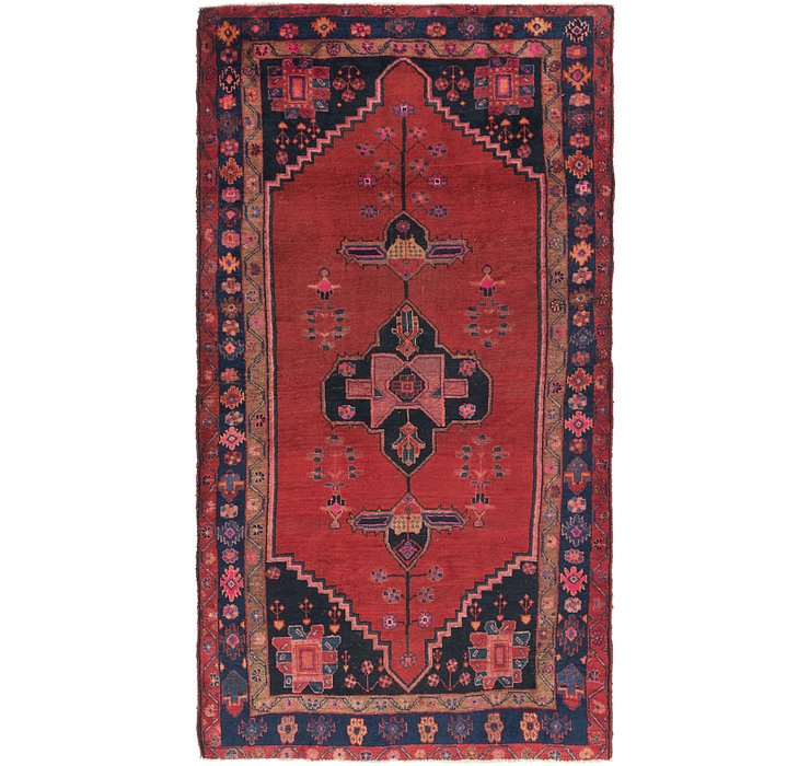 4' 10 x 9' 3 Koliaei Persian Rug