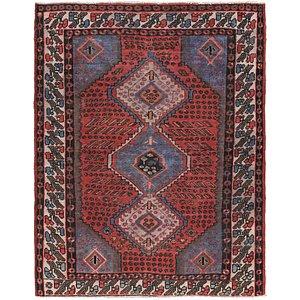 Unique Loom 4' 9 x 6' 9 Zanjan Persian Rug